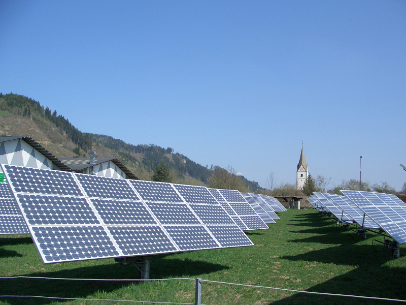 Freiflächenanlage Völkermarkt © Bundesverband Photovoltaic Austria
