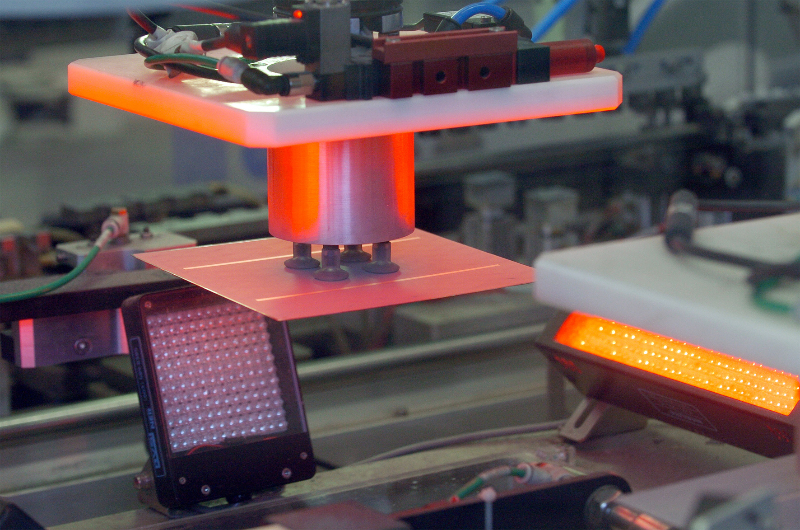 Zellenproduktion © BSW Solarworld AG